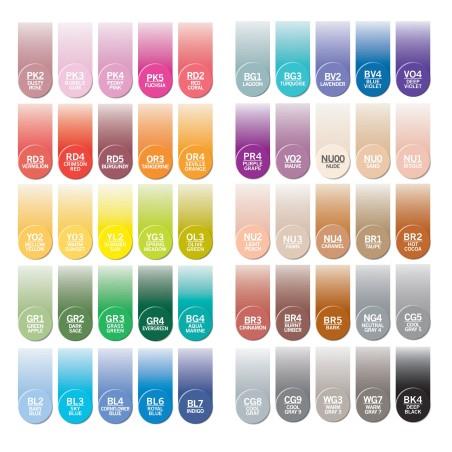 Pack 5 couleurs – Confectionnez votre propre pack